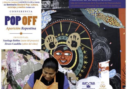 Santiago Robles, Pop Off, Aparición Repentina, Arte visual, Visual art, Intervencionismo, Interventionism, Painting, Pintura, Ciudad de México, Mexico city,