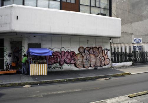 Santiago Robles, Pop Off, Aparición Repentina, Intervención Urbana, Intervención Pictórica, Acción colaborativa, Pintura, Painting, Interventionism, Espantoso Suceso 3