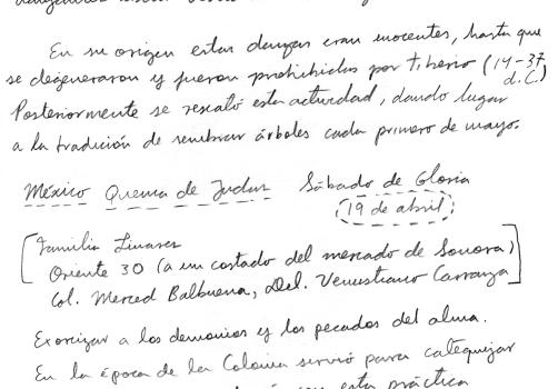 Santiago Robles, Estado Estado Fallido Estallido, Cuaderno de trabajo, Estudio, Anotaciones, Escritos, Planeación