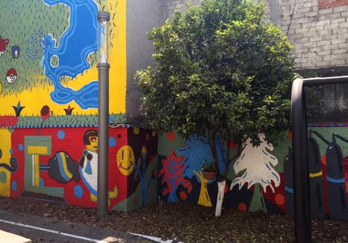 Santiago Robles, Jardín Tepaneca, Mural, Azcapotzalco, Pintura, Vecinos, Resultados 12