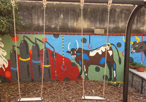Santiago Robles, Jardín Tepaneca, Mural, Azcapotzalco, Pintura, Vecinos, Resultados 13