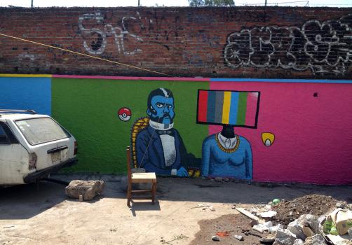 Santiago Robles, Jardín Tepaneca, Mural, Azcapotzalco, Pintura, Vecinos, Resultados 19