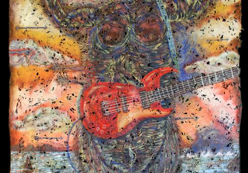 Santiago Robles, Pop Off, Aparición Repentina, Intervención Urbana, Intervención, Pintura, Painting, Interventionism, La maravilla del mar, Parte privada 1