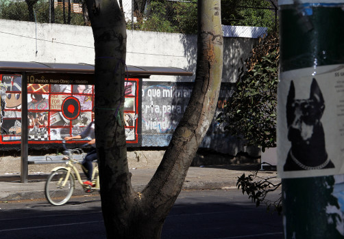 Santiago Robles, Pop Off, Aparición Repentina, Intervención Urbana, Intervención Pictórica, Acción colaborativa, Pintura, Painting, Interventionism, Boceto, Publicidad, Vans, Te Vi 4