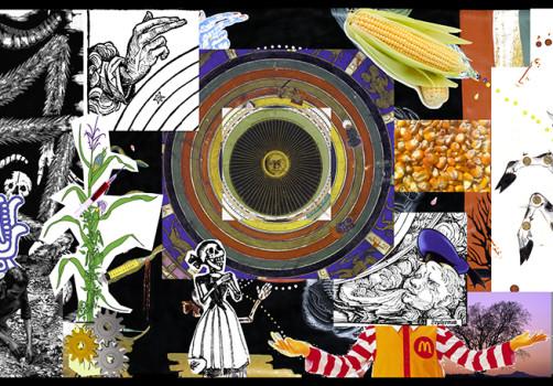 Santiago Robles, Pop Off, Aparición Repentina, Intervención Urbana, Intervención Pictórica, Acción colaborativa, Pintura, Painting, Interventionism, Boceto, Sketch, Espantoso Suceso 1