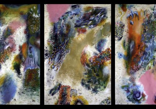 Santiago Robles, Pop Off, Aparición Repentina, Intervención Urbana, Intervención Pictórica, Acción colaborativa, Pintura, Painting, Interventionism, Playa-En el mar 6