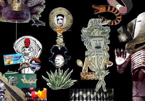 Santiago Robles, Pop Off, Aparición Repentina, Intervención Urbana, Intervención Pictórica, Acción colaborativa, Pintura, Painting, Interventionism, Vitrina Pop Off 1