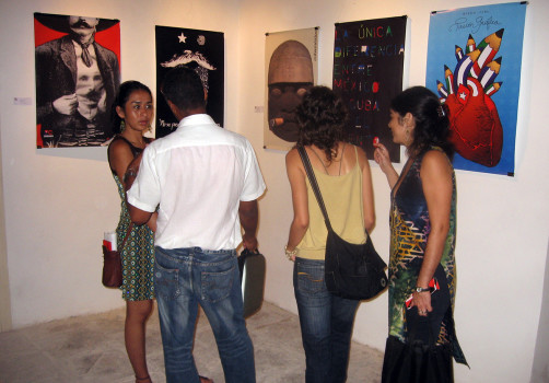 Transporte Colectivo, Icograda, Diseño de cartel, Poster, Poster Design, La Habana, Cuba, Design Culture, Santiago Robles, Centro de Desarrollo de las Artes Visuales, Inauguración 4