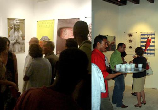 Transporte Colectivo, Icograda, Diseño de cartel, Poster, Poster Design, La Habana, Cuba, Design Culture, Santiago Robles, Centro de Desarrollo de las Artes Visuales, Inauguración 3