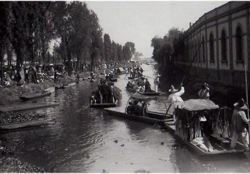 Santiago Robles, Arte, Arte Visual, Ríos, Río Natural, Ciudad de México, Canal de la viga, 1910