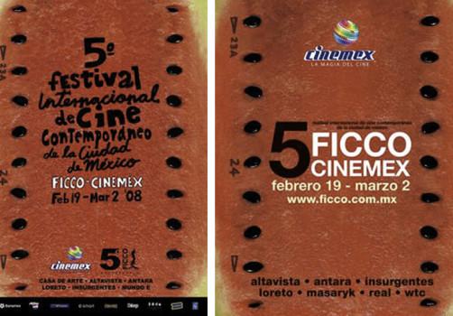 Santiago Robles, Jorge Garnica, Cartel, Poster, Diseño de cartel, Poster design, graphic design, Diseño gráfico, Cinemex, Prize, Winning, Cartel ganador, Concurso, Cinemex 2