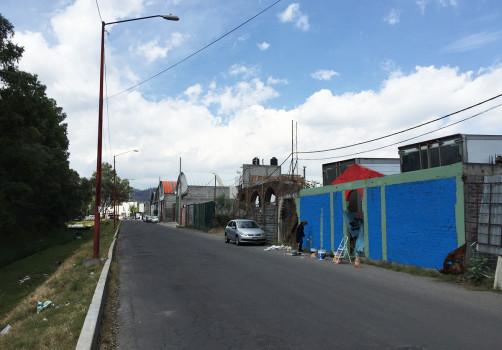 Intervención, Río Santiago, 2