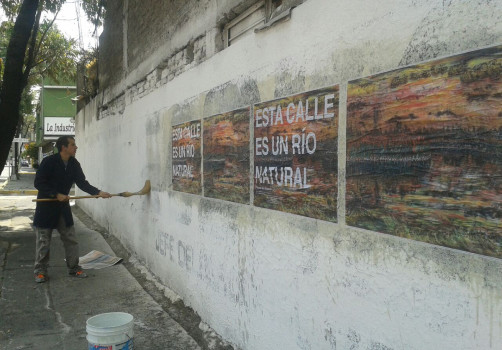 Intervención, Río Churubusco, 2