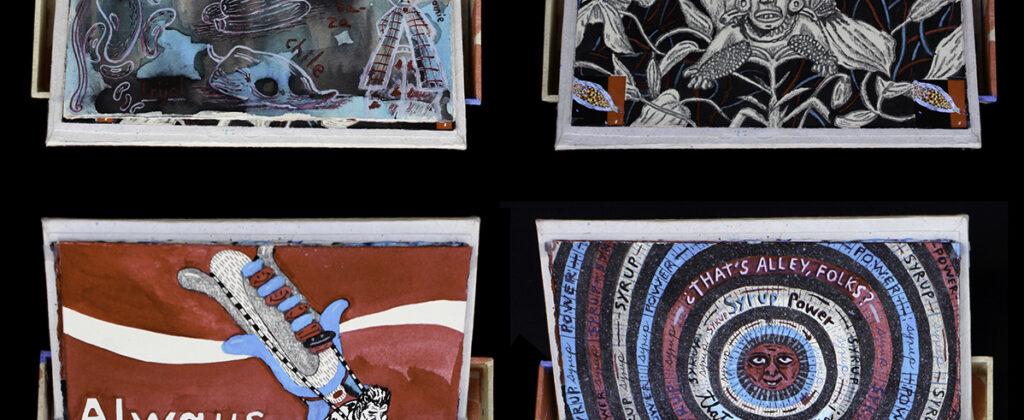 SantiagoRobles, ArtistBook, Art, ContemporaryArt, Graphic, Maize, Korn, TrangenicMaize, OMG, Paint