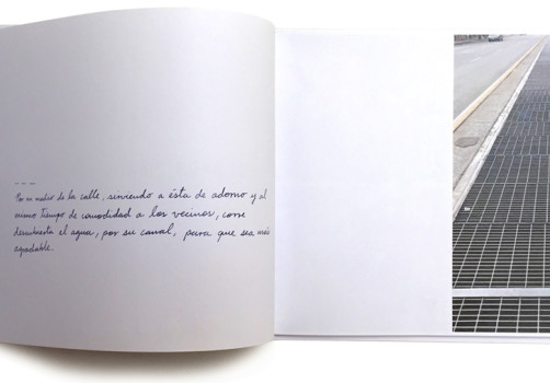 Santiago Robles, Calzada México-Tacuba, Libro de artista, Artist book, Book, Libro, Caminata, Walking, Deriva, Object found, Objeto encontrado, Fotografía, Photography