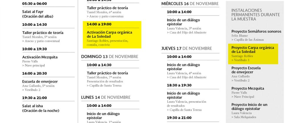Santiago Robles, arte, art, arte contemporáneo, contemporary art, public art, arte público, arte colaborativo, collaborative art, Carpa orgánica de La Soledad, Exposición colectiva, Exhibition, Ex Teresa Arte Actual