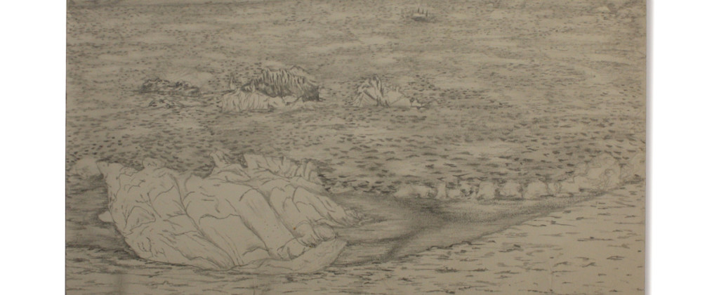 Santiago Robles, dibujo, drawing, draw, paper, pencil, sketch, sketching, beach, playa