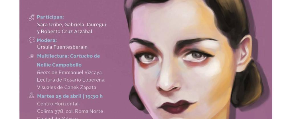 Santiago Robles, Nellie Campobello, Tierra Adentro, Secretaría de Cultura