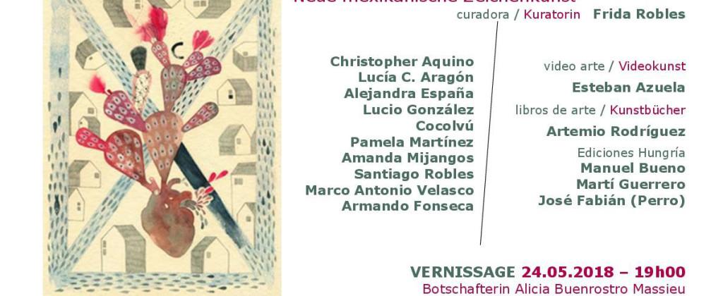 SantiagoRobles, NuevoDibujoMexicano, FridaRobles, ArtemioRodriguez, AlejandraEspaña, Austria, AmandaMijangos