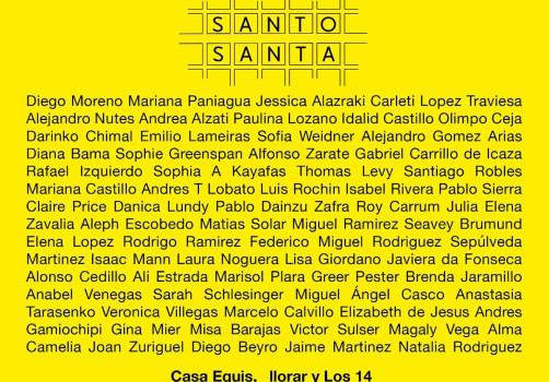 SantiagoRobles, Art, ContemporaryArt, ArteContemporáneo, Exhibition, Exhibición, Muetra, Exposición, Independiente, ArteVisual, Llorar, SantoSanta