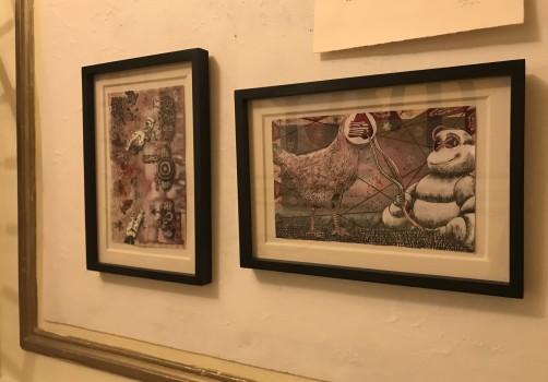 SantiagoRobles, Art, ContemporaryArt, ArteContemporáneo, Exhibition, Exhibición, Muetra, Exposición, Independiente, ArteVisual, Llorar, SantoSanta, Paint, Draw, Painting, Graphic