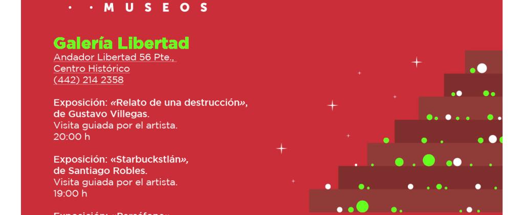 SantiagoRobles, Starbuckstlan, Exhibition, ContemporaryArt, Gallery, ChristianBarragan, GustavoVillegas, NochedeMuseos, Queretaro, Grafica, Pintura, CodiceStarbuckstlan