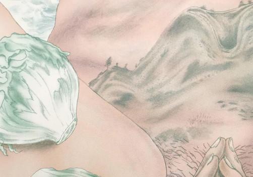 SantiagoRobles, Print, Silkscreen, Impresion, Serigrafia, Caminata, Tehutli, Volcan, Printing, Draw, Dibujo, Art, ContemporaryArt, ArteContemporaneo, Tehutli