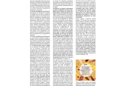 SantiagoRobles, Maiz, Maize, Ciencas, UNAM, Tonacayotl, Coke, Pepsi, Monsanto, OMG, SilviaTorres, Arte,