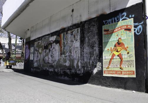 Santiago Robles, Pop Off, Aparición Repentina, Intervención Urbana, Intervención Pictórica, Acción colaborativa, Pintura, Painting, Interventionism, Espantoso Suceso