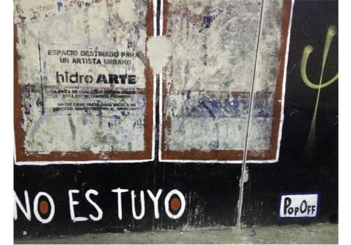 Santiago Robles, Pop Off, Aparición Repentina, Intervención Urbana, Intervención Pictórica, Acción colaborativa, Pintura, Painting, Interventionism, Tu tiempo no es tuyo