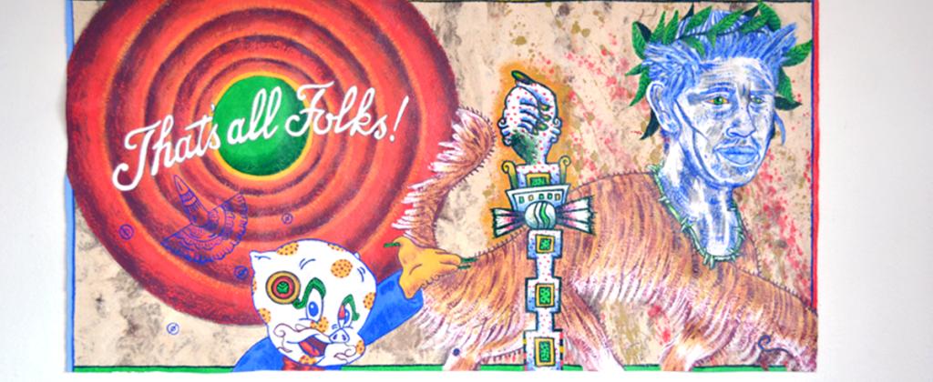 Códice, Exhibition, Exposición, Gráfica, Graphic, Mural, Visual Art, Arte Visual, Libro Arte, Art Book, Libro de Artista, Oaxaca, mictlantecuhtli
