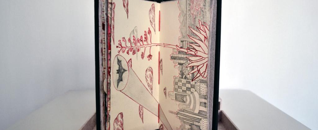 Códice, Exhibition, Exposición, Gráfica, Graphic, Mural, Visual Art, Arte Visual, Libro Arte, Art Book, Libro de Artista, Oaxaca, Sometimes Red is a Red Red Rose
