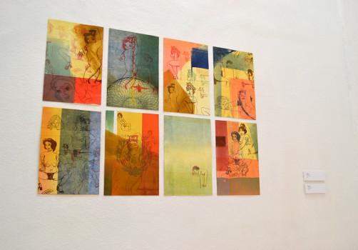 Códice, Exhibition, Exposición, Gráfica, Graphic, Mural, Visual Art, Arte Visual, Libro Arte, Art Book, Libro de Artista, Oaxaca, 41