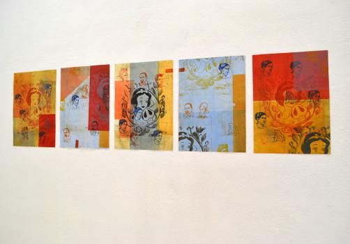 Códice, Exhibition, Exposición, Gráfica, Graphic, Mural, Visual Art, Arte Visual, Libro Arte, Art Book, Libro de Artista, Oaxaca, 42