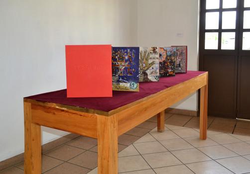Códice, Exhibition, Exposición, Gráfica, Graphic, Mural, Visual Art, Arte Visual, Libro Arte, Art Book, Libro de Artista, Oaxaca, 47b