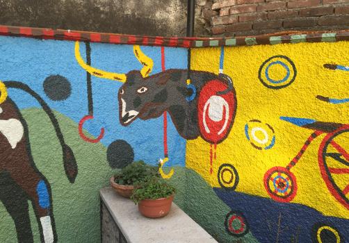 Santiago Robles, Jardín Tepaneca, Mural, Azcapotzalco, Pintura, Vecinos, Resultados 14