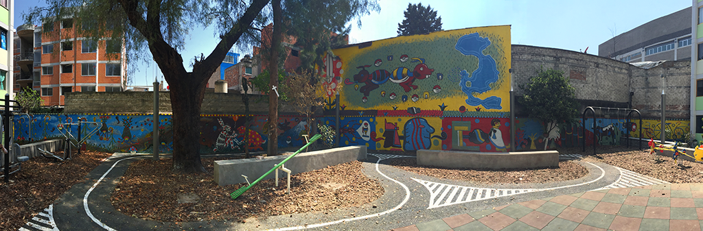 Santiago Robles, Jardín Tepaneca, Mural, Azcapotzalco, Pintura, Vecinos, Resultados 16