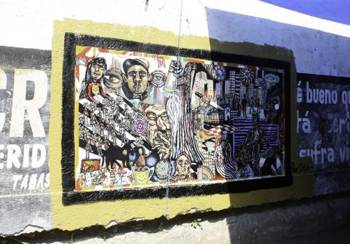 Santiago Robles, Pop Off, Aparición Repentina, Intervención Urbana, Intervención Pictórica, Acción colaborativa, Pintura, Painting, Interventionism, Boceto, Te Vi 2