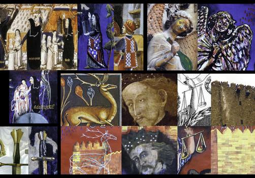 Santiago Robles, Pop Off, Aparición Repentina, Intervención Urbana, Intervención Pictórica, Acción colaborativa, Pintura, Painting, Interventionism, Ultramarinos finos 1