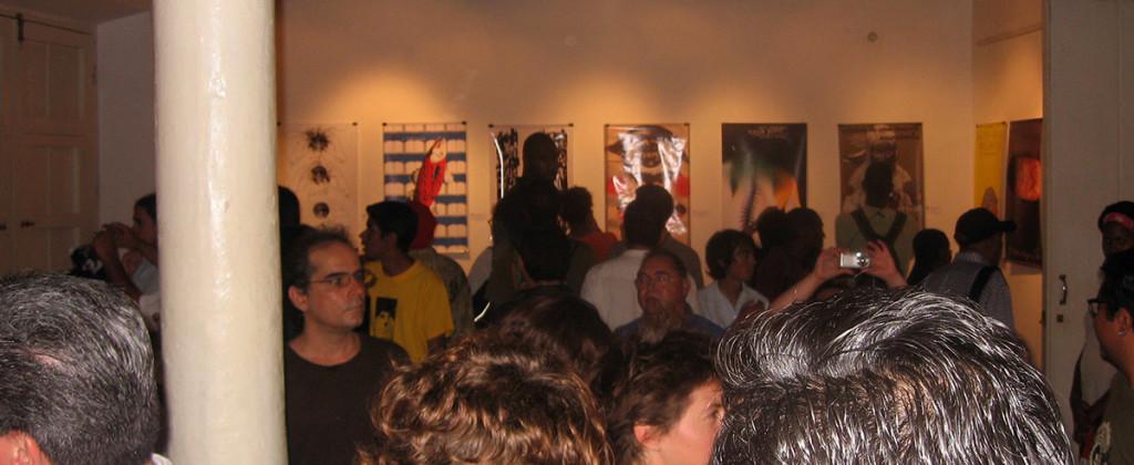 Transporte Colectivo, Icograda, Diseño de cartel, Poster, Poster Design, La Habana, Cuba, Design Culture, Santiago Robles, Centro de Desarrollo de las Artes Visuales, Inauguración 2