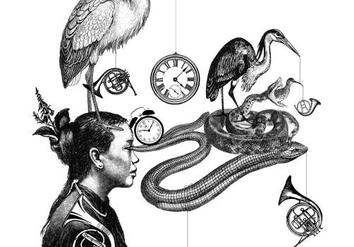 Santiago Robles, Ilustración, Tan Sin Tiento, Poemario, Mario Ortega, Editorial Gravitaciones, España, Poesía, Portada 1