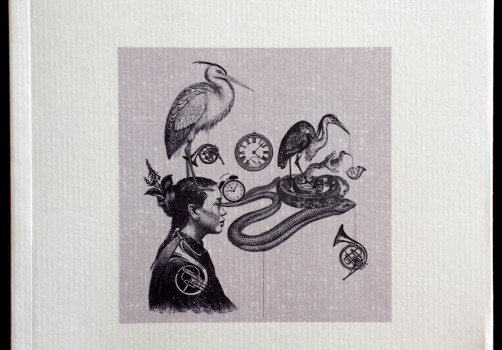 Santiago Robles, Ilustración, Tan Sin Tiento, Poemario, Mario Ortega, Editorial Gravitaciones, España, Poesía, Portada 2