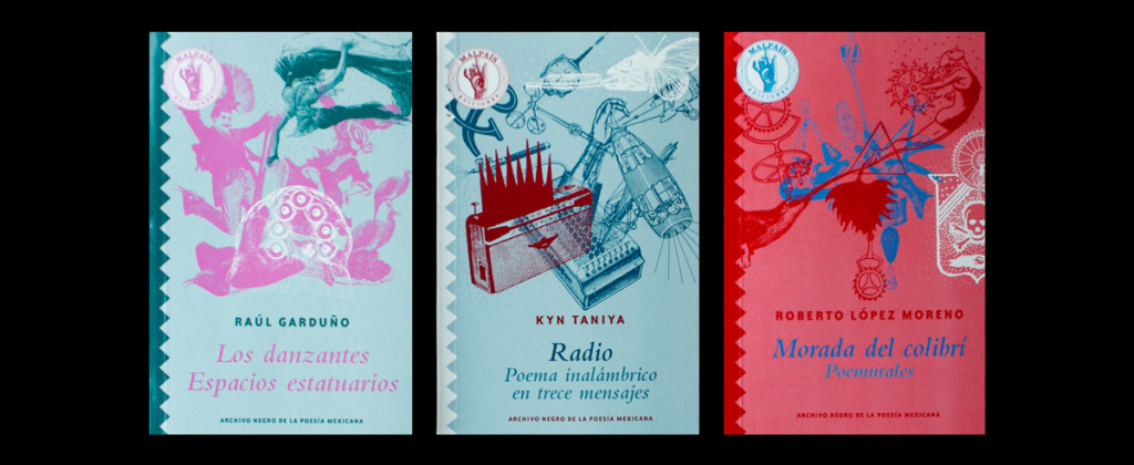 Santiago Robles, Malpaís Ediciones, Archivo Negro de la Poesía Mexicana, Editorial Mexicana, Libro, Libros, Colección, Poesía, Gráfica, Diseño, Diseño Editorial, Fotografías, Ediciones, Libros,
