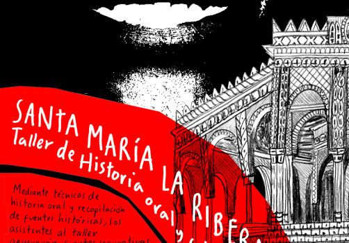 Santiago Robles, Diseño, Diseño de cartel, Ilustración, Design, Poster Design, Illustration, Santa María la Ribera, Taller de Historia y Fotografía, Biblioteca Móvil, Alumnos 47