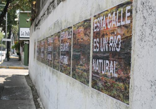 Intervención, Río Churubusco, 3