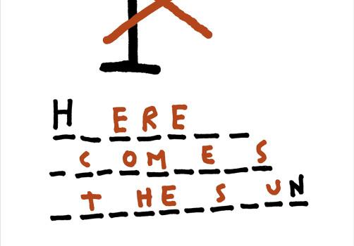 Santiago Robles, Diseño, Diseño de cartel, Ilustración, Design, Poster Design, Illustration, Here comes the sun
