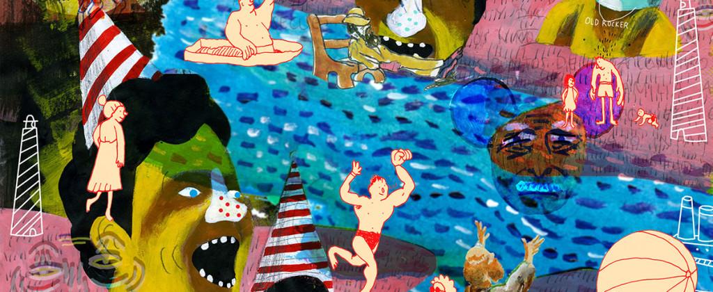 Santiago Robles, Santiago Solís, Popof, Ilustración, Illustration, Drawing, Dibujo, Pintura, Painting, Colaboración, Collaboration, Primer Catálogo Iberoamericano de Ilustración, Fundación SM, El Ilustradero, FIL Guadalajara, Premio, Award 1