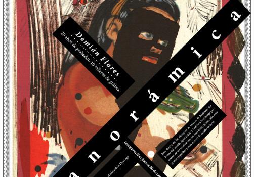 Santiago Robles, Diseño, Diseño de cartel, Ilustración, Design, Poster Design, Illustration, Panorámica, Demián Flores, Pulquería de los Insurgentes, Gráfica, 2014