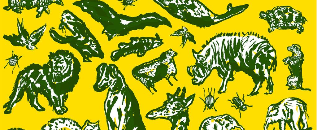Santiago Robles, Diseño, Diseño de cartel, Ilustración, Design, Poster Design, Illustration, La Misma pero repintada, Biblioteca Móvil, Alumnos 47