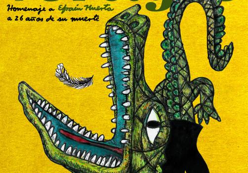 Santiago Robles, Diseño, Diseño de cartel, Ilustración, Design, Poster Design, Illustration, Mar de Vertigos, Homenaje, Efraín Huerta, Encuentro Nacional de Literatura Joven en el Centro Histórico, 2008